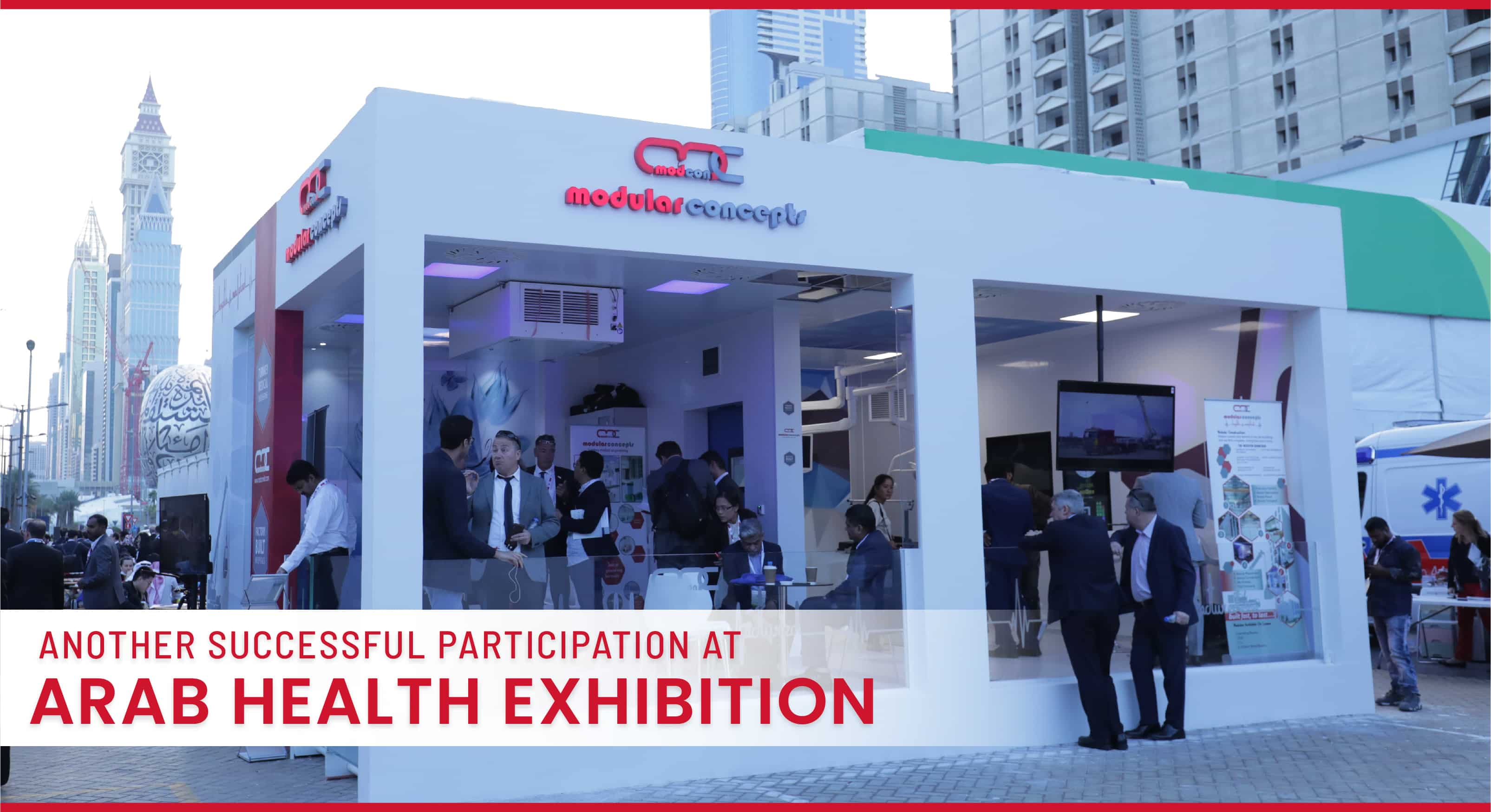 Another Successful Participation at Arab Health Exhibition