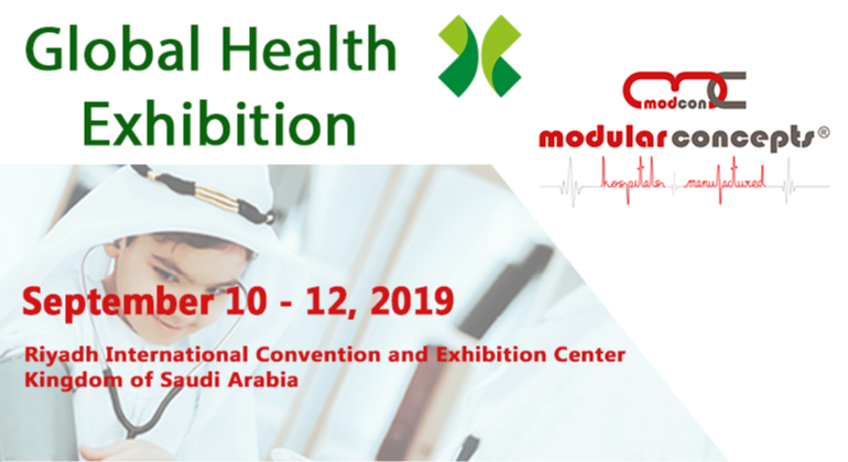 Global Health Exhibition 2019 in Riyadh - Saudi Arabia