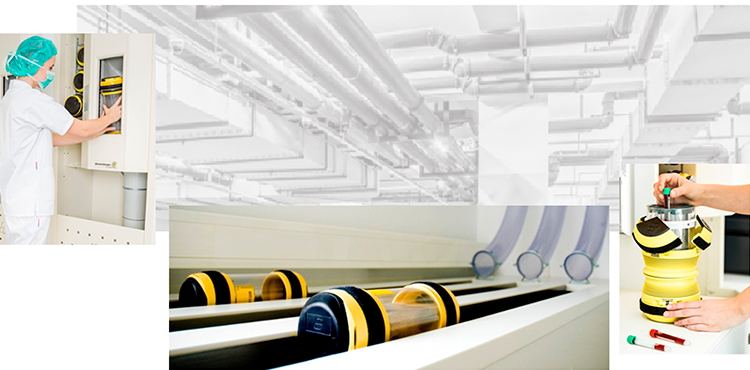 Pneumatic Tube systems (PTS)